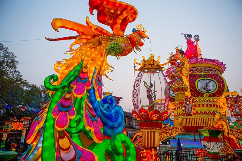 春节花灯betway官网制作案例--《自贡灯会》