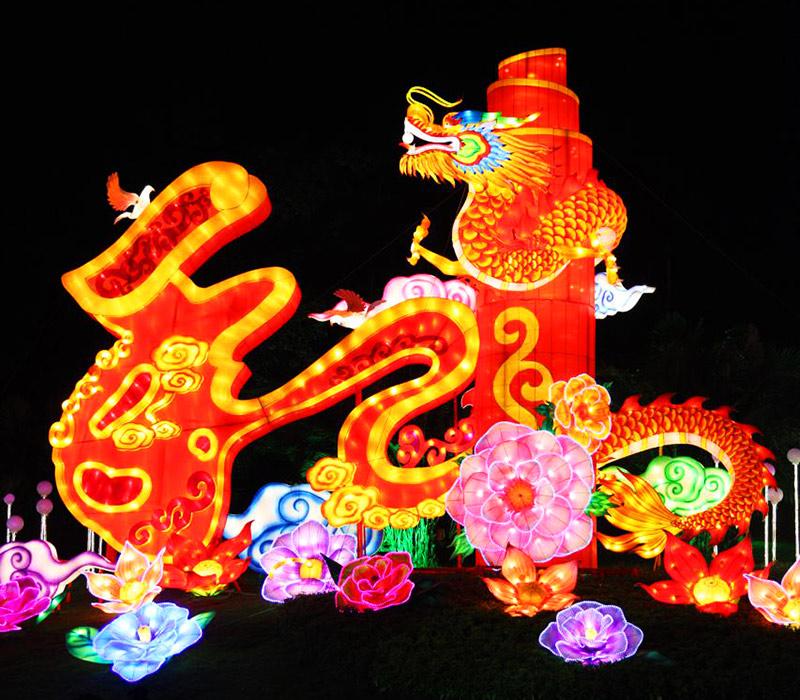 春节花灯,花灯制作,